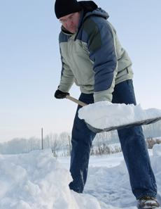 man_shoveling