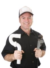 shutter plumber smiling
