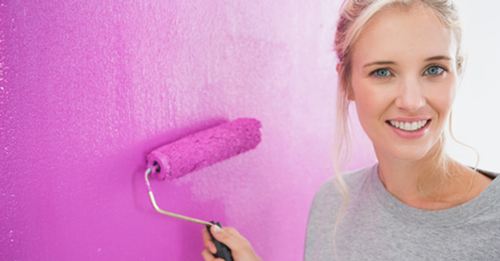 blonde-painting-cheerful--fb-shutterstock_146040170